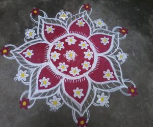 Colorful Rangoli!