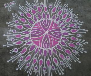My small kolam!