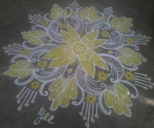 Navarathri Special! Day-3 yellow!!