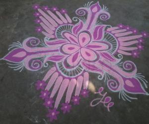 Navarathri Special! Day-8 Pink!