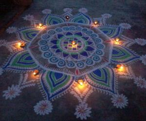 Rangoli: Happy Diwali!!