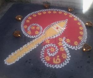 Karthigai kolam-1