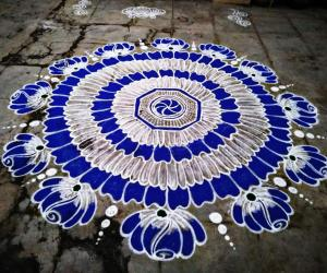 Margazhi kolam day-19!