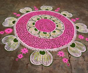 Margazhi kolam day-28!