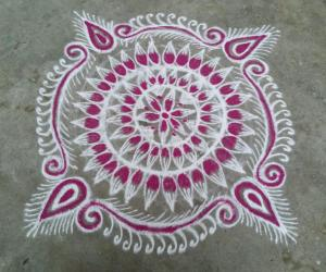 Saturday  kolam!