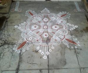 my daily kolam