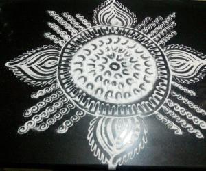 Navarathri day3; White magic!