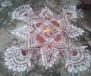 Rangoli: Margazhi kolam_21!