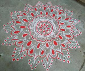 Friday kolam!!