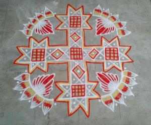 Tuesday kolam!!