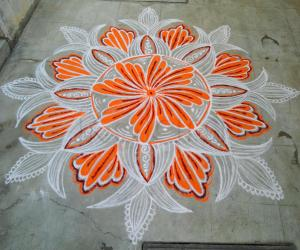 Thursday  kolam!!