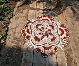 Rangoli: தமிழ் புத்தாண்டு வாழ்த்துக்கள்