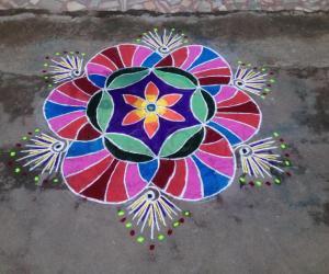 Rangoli: Multicolors