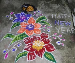 NEW YEAR CREATION.