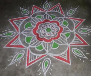 Friday rangoli