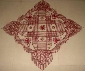 Rangoli: Margazhi Kolam-6