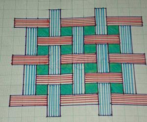 Puzzle Kolam - Just in paper