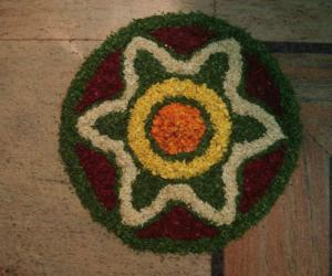 Onam day decor