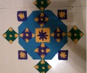 Kolams for Golu