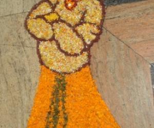 Rangoli: Onam 2012