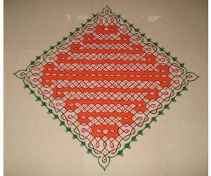Dotted Kolam No 1