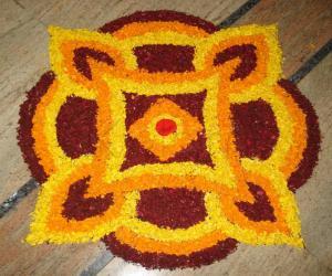 Rangoli: Happy Vishu
