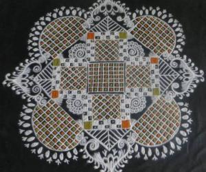 Padikolam Design for saturday
