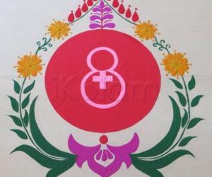 Rangoli: International Woman's Day-2014