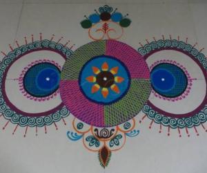 Rangoli: Rang Barse rangoli..2014