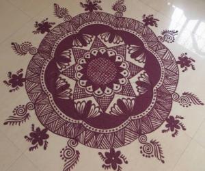 Rangoli: Happy Gudi Padwa-2014