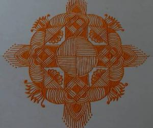 Navarathri Specials- Kolam 4
