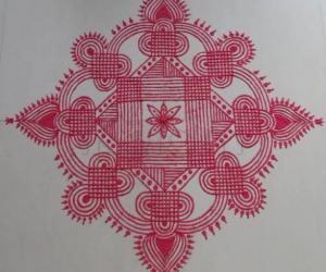 Rangoli: Navarathri Specials- Kolam 6