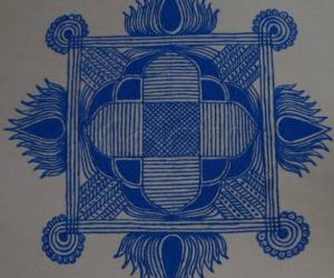 Navarathri Specials- Kolam 7