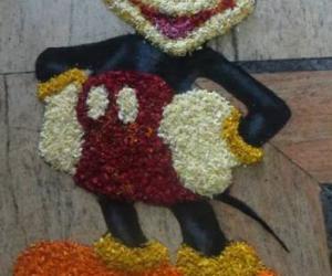 Rangoli: Onam Pookolam-Advance wishes for Onam