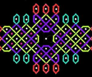 Two-line dotted rangOli