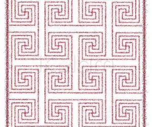 Rangoli: A svAstika pattern