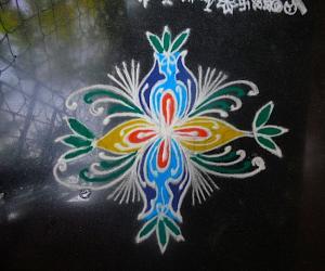 Rangoli: Beginner rangoli