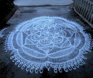 Rangoli: Happy Birthday