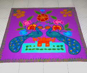 Rangoli: Happy Bhogi