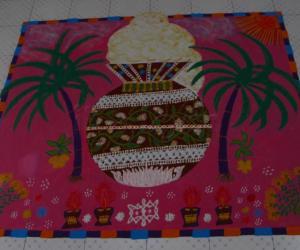 Rangoli: Happy Makarashankranthi