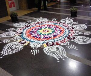 Diwali rangoli contest 2011
