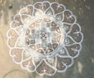 Rangoli: Thamizh New Year Kolam