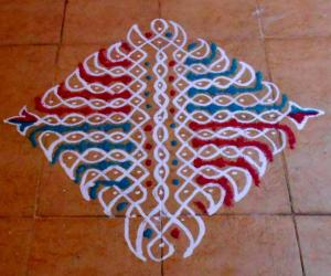 13-1 dotted kolam No.8
