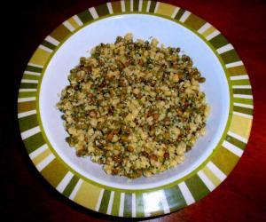 Healthy green gram Sundal
