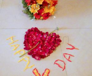 Rangoli: Happy Valentine Day
