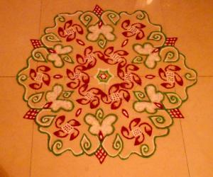 Rangoli: Happy Ugadhi