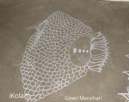 Rangoli: Chalk Kolam in Singapore !!!