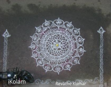 Rangoli: Margazhi Kolangal Dated 18/12/2009