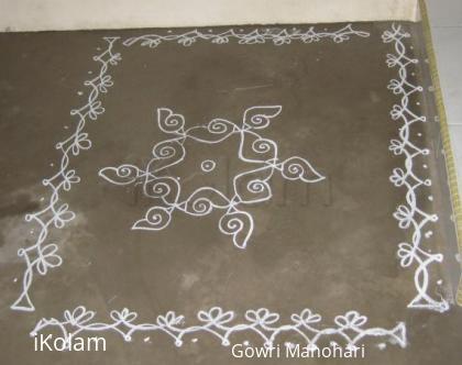 Rangoli: Chalk Kolam