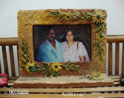 Rangoli: Photo frame